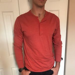 J. Crew men's long sleeve tee